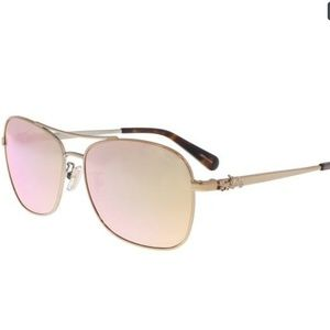 New Coach sunglasses